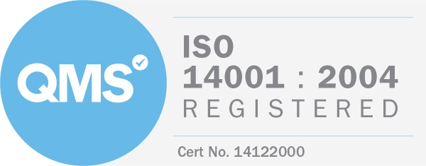 ISO 14001-2004 registered