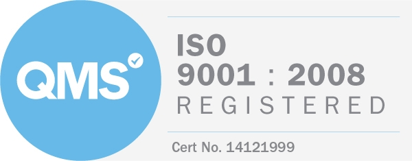 ISO 9001-2008 registered